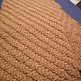 Scarf in Camel yarn