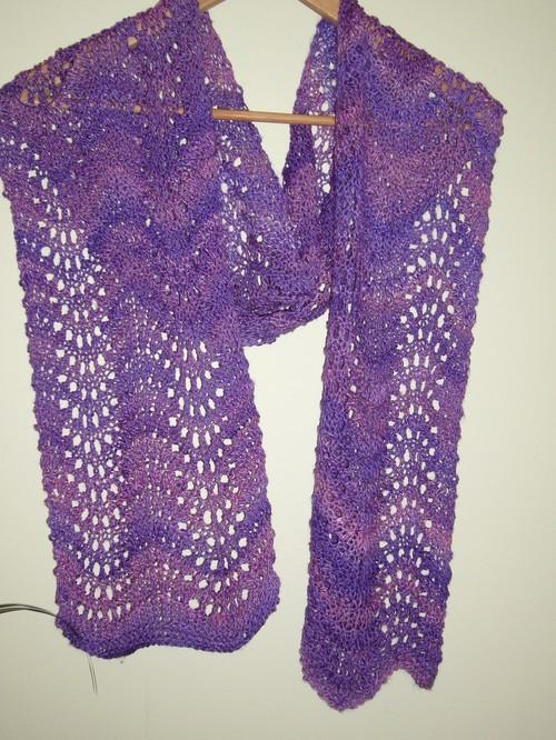 Soy-silk scarf