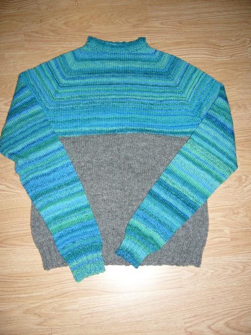 Half-spun sweater
